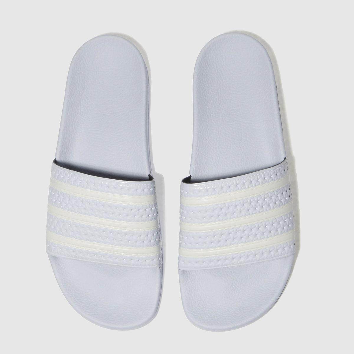Adidas Pale Blue Adilette Sandals