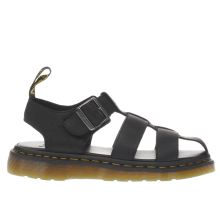 Dr Martens Black Galia Fisherman Mens Sandals