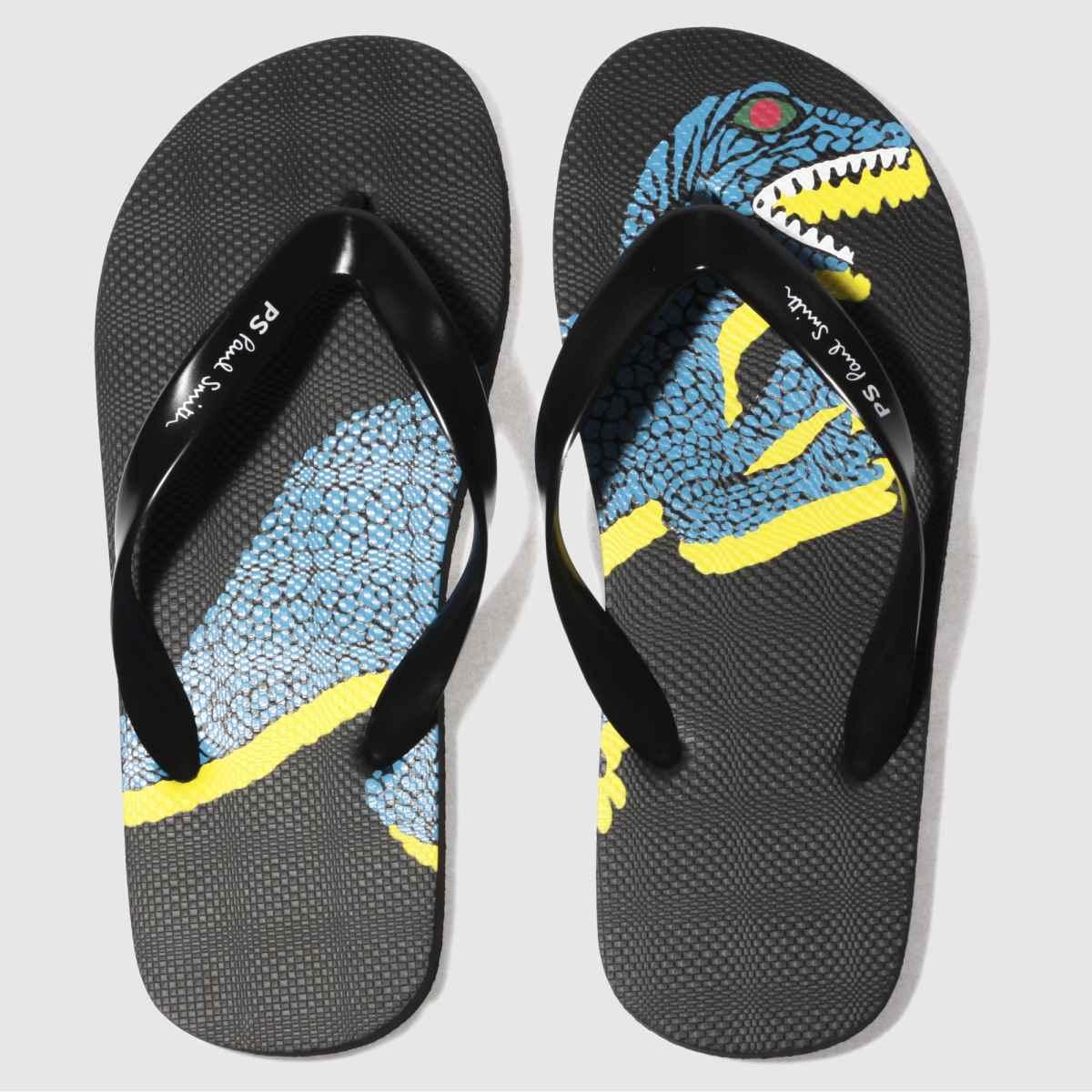 paul smith shoe ps Paul Smith Shoe Ps Black Discflop Sandals