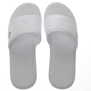 Lacoste White L.30 Slide Sport Mens Sandals