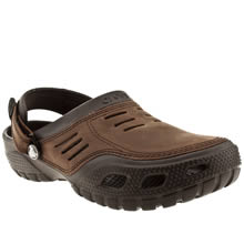 Brown Crocs Yukon Sport