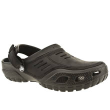 Crocs Black Yukon Sport Mens Sandals