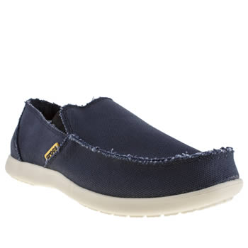 Crocs Navy Santa Cruz Shoes