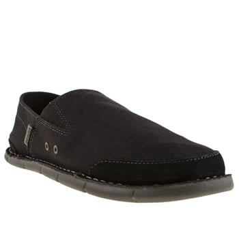 Mens Crocs Black & Grey Cabo Shoes