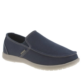 Crocs Navy Santa Cruz Cc Sandals