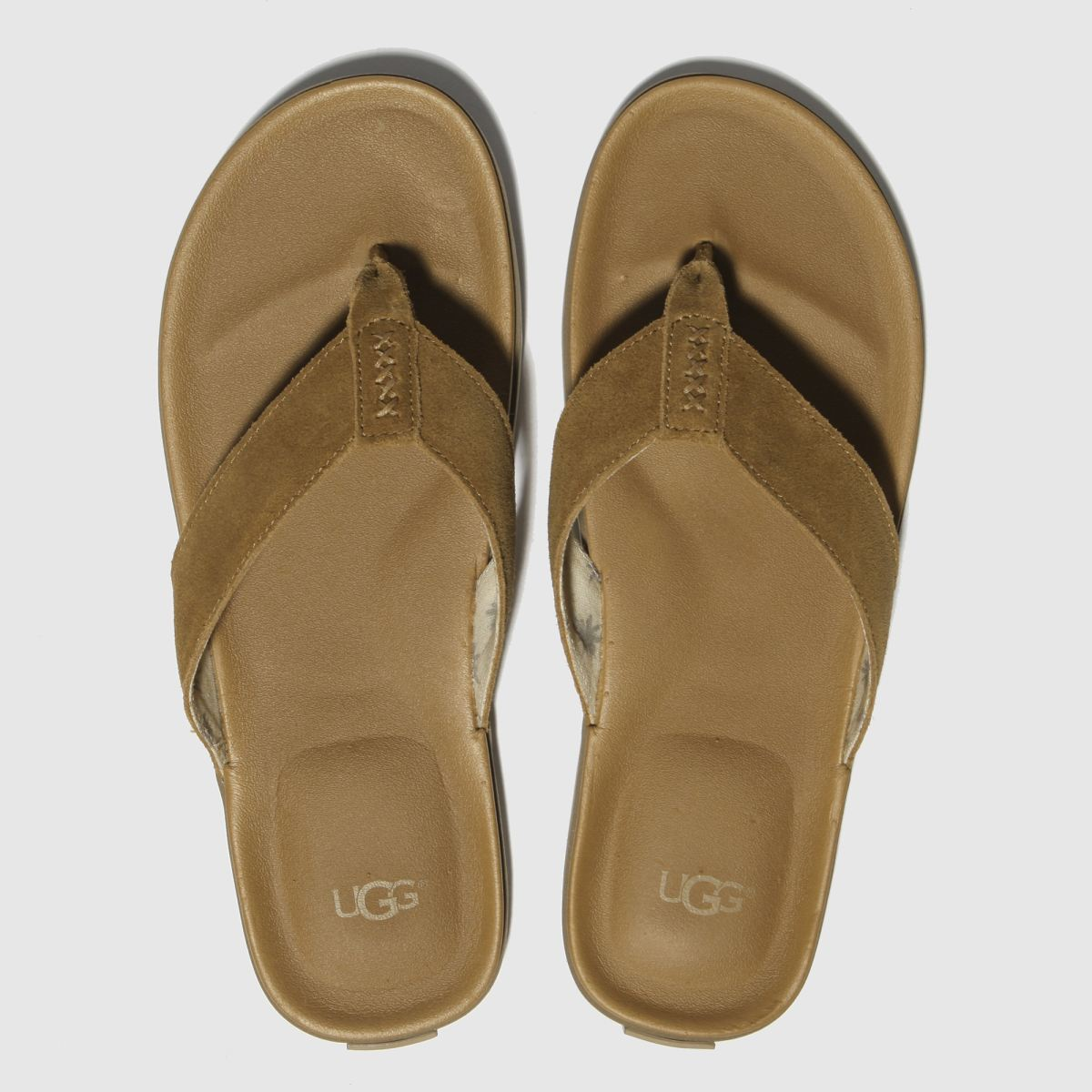 Ugg Tan Beach Flip Flop Sandals