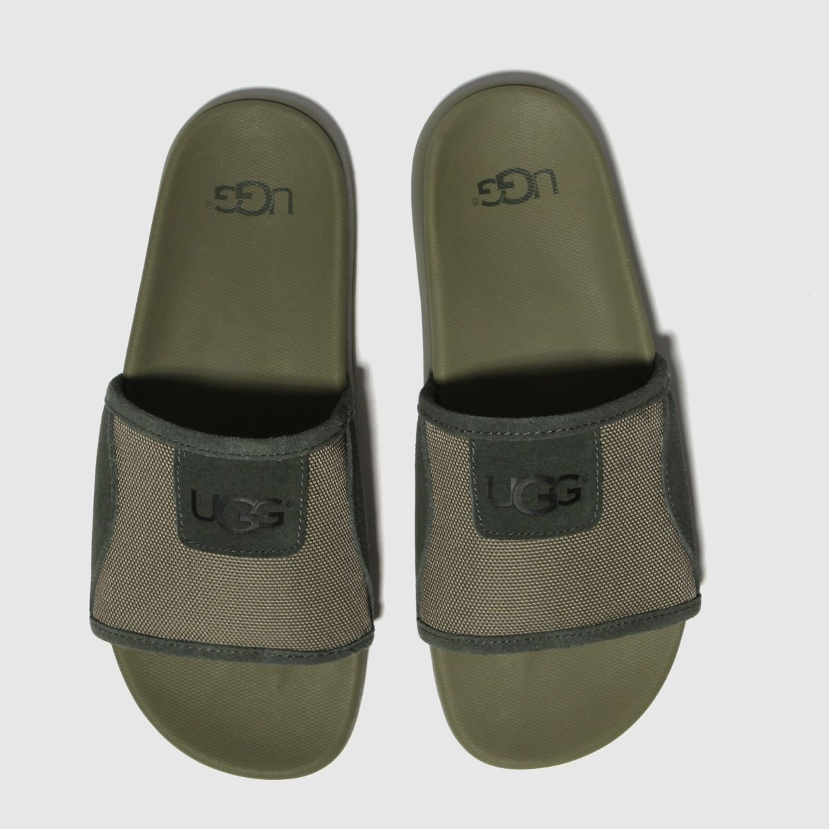 Ugg Green Xavier Ballistic Slide Sandals