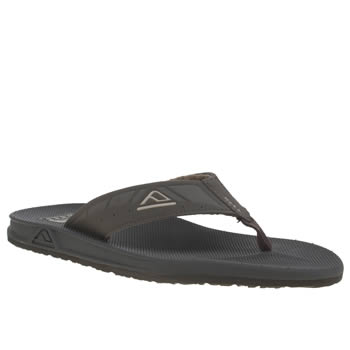 Mens Reef Brown Phantoms Sandals