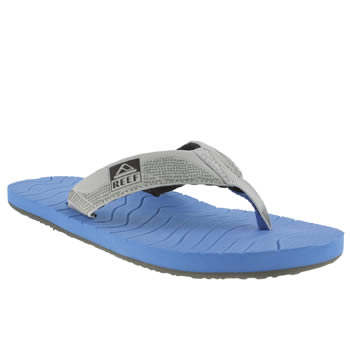 Mens Reef Blue Roundhouse Sandals