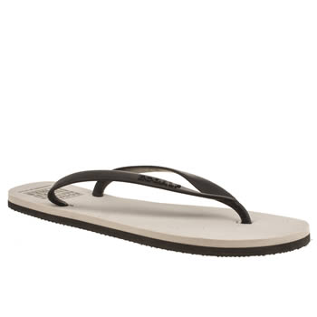 Mens Ecoalf Grey Flip Flop Sandals