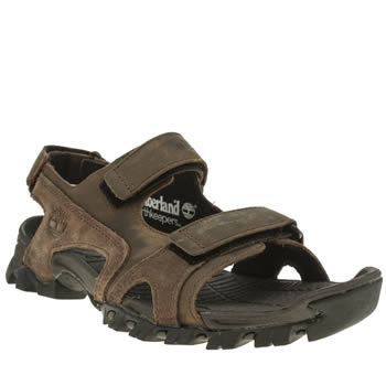 Timberland Brown Earthkeeper Cogdon Sandals
