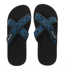 Reef Black and blue Crossover Mens Sandals