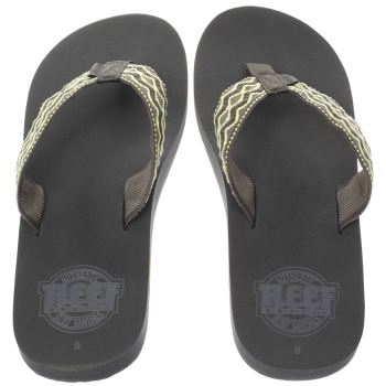 REEF GREY SMOOTHY SANDALS