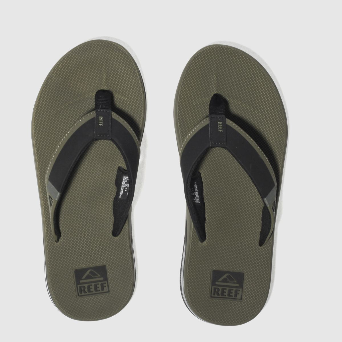 Reef Reef Khaki Fanning Low Sandals