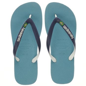 Havaianas Blue Brasil Mix Sandals