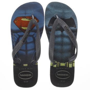 Havaianas Black & Blue Batman V Superman Mens Sandals