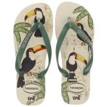 Havaianas Stone & Green Ipe Mens Sandals