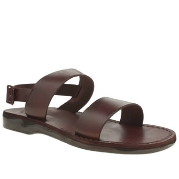 Mens Jerusalem Brown Golan Sandals