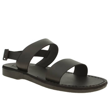 Jerusalem Black Golan Sandals