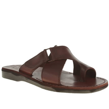 Jerusalem Brown Asher Sandals