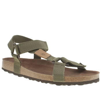 Red Or Dead Khaki Mr Gough Sandals
