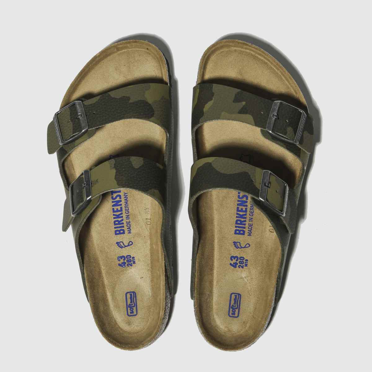 Birkenstock Khaki Arizona Soft Footbed Sandals