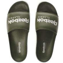 Reebok Khaki  Classic Slide Mens Sandals
