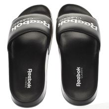 Reebok Black & White Classic Slide Mens Sandals