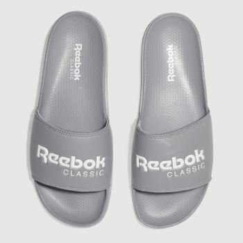 Reebok Grey Classic Slide Mens Sandals