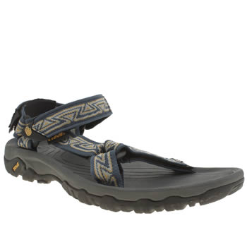 Teva Navy & Grey Hurricane Xlt Sandals