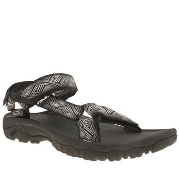 Teva Grey & Black Hurricane Xlt Sandals