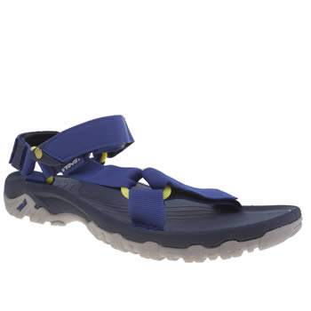 Teva Blue & Yellow Hurricane Xlt Sandals