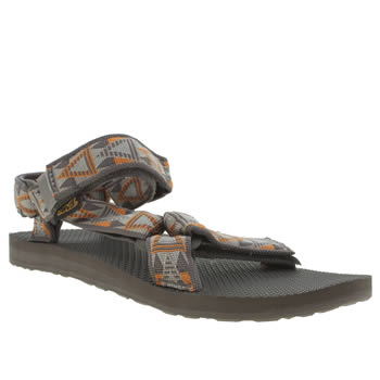 Teva Brown & Orange Original Universal Sandals