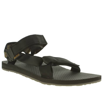 Teva Black Original Universal Sandals