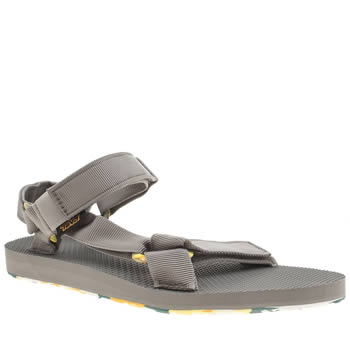 Mens Teva Grey Original Universal Marbled Sandals