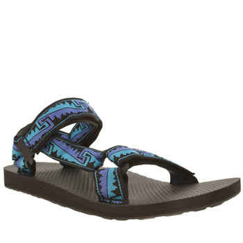 Teva Black & Navy Original Universal Sandals