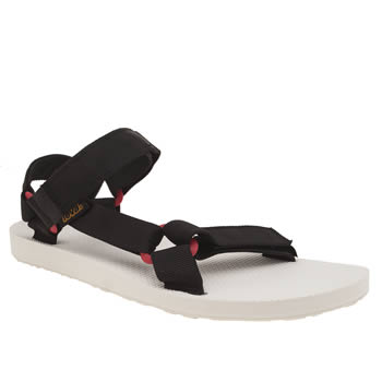 Teva Black Original Universal Sport Sandals