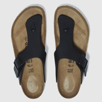 mens birkenstock black ramses sandals