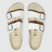 Birkenstock White Arizona Mens Sandals