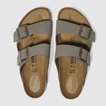 Birkenstock Khaki  Arizona Mens Sandals