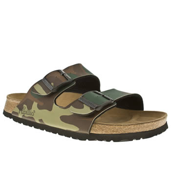 mens birkenstock khaki arizona sandals