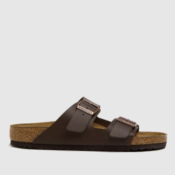 Mens Birkenstock Brown Arizona Sandals