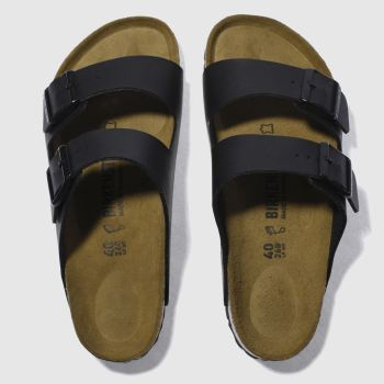 Mens Birkenstock Black Arizona Sandals