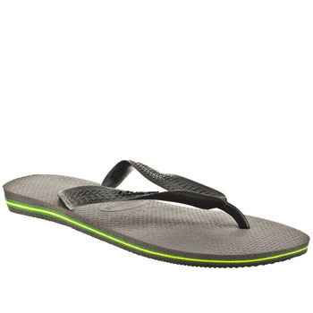 mens havaianas grey brasil sandals