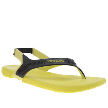 Mens Havaianas Yellow Action Sandal Sandals