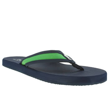 Polo Ralph Lauren Navy & Green Almer Sandals