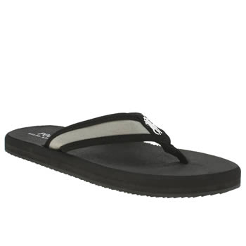 Polo Ralph Lauren Black & Grey Almer Sandals