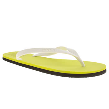Mens Ecoalf Green Flip Flop Sandals