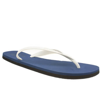Mens Ecoalf Blue Flip Flop Sandals