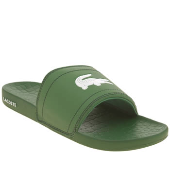Lacoste Green Fraisier Sandals